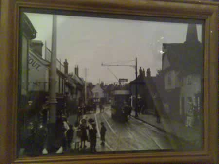 old picture of St. Helens Street
